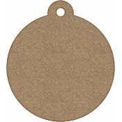 Tag Shape 06- Chipboard 6