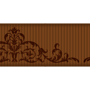 Medium Ribbon- Ornamental 01- Brown