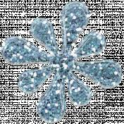 Desert Spring Glitter Flower