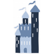 Slovenia Castle 04 Blue