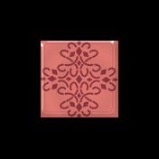 Slovenia Square Brad 022- Red