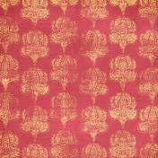 Damask 09- Pink