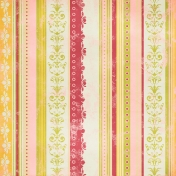 Stripes Paper 98- Pink & Green