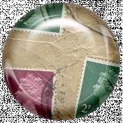 Euro Stamp Brad 13