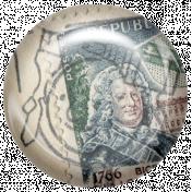 Euro Stamp Brad 18
