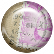 Euro Stamp Brad 20