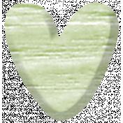 Sweet Moments Heart- Light Green