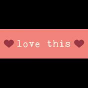 Slovenia Label- Love This