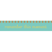 Slovenia Label- Remember This Moment
