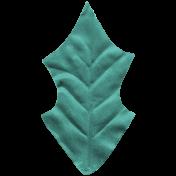 Slovenia Leaf- Teal