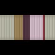 Slovenia Ribbon- Stripes Thin 01