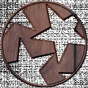 Slovenia Wood- Star Disc