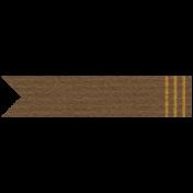 Arabia Label- Brown