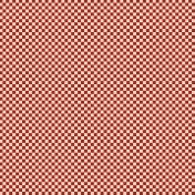 Checkered 06- Red & White