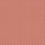 Checkered 06- Red & White