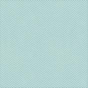 Chevron 05- Aqua & White