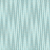 Chevron 05- Aqua & White