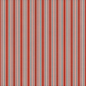 Stripes 03- Red & Aqua
