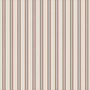 Stripes 05- Red & Aqua