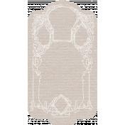 Arabia Tag- White & Grey