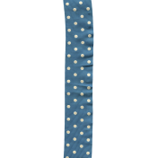 Bolivia Bow- Blue Polka Dot