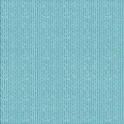 Stripes 54- Aqua Glitter