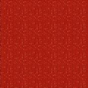 Stripes 54- Red Glitter