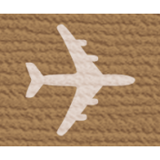 Bolivia Label- Airplane