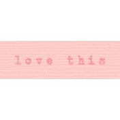 Bolivia Label- Love This