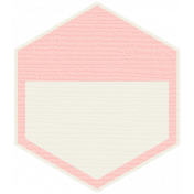 Bolivia Tag- Pink & Cream