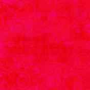 Pink Red Circle Paper