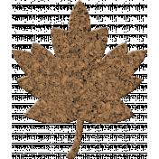 Bolivia Cork Elements- Maple Leaf