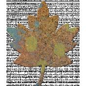 Bolivia Cork Elements- Maple Leaf Painted