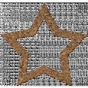 Bolivia Cork Elements- Star Frame