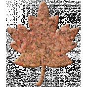 Bolivia Cork Elements- Mini Maple Leaf Painted