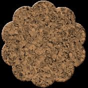 Bolivia Cork Elements- Scallop Flower