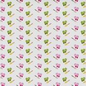 Veggie Patch- Gloves & Shovels Paper