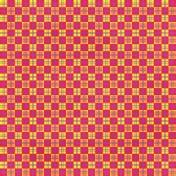 Checkered 01- Yellow & Pink