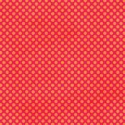Polka Dots 23- Pink & Orange