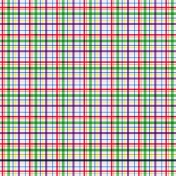 Plaid Paper 11- Bright