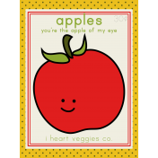 The Veggie Patch Cards Kit- Apples