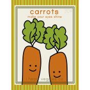 The Veggie Patch Cards Kit- Carrots