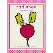 The Veggie Patch Cards Kit- Radishes
