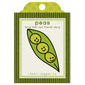 The Veggie Patch Seed Packets- Peas
