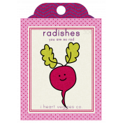 The Veggie Patch Seed Packets- Radishes