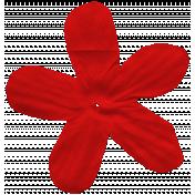 Veggie Patch Flower- Red