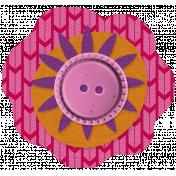 Veggie Patch Paper Flower- Pink