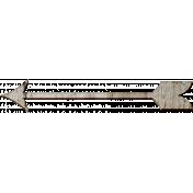 Veggie Patch Wood- Arrow With Tail