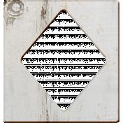Veggie Patch Wood- Diamond Cutout