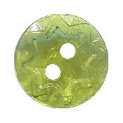 Autumn Art Button- Green